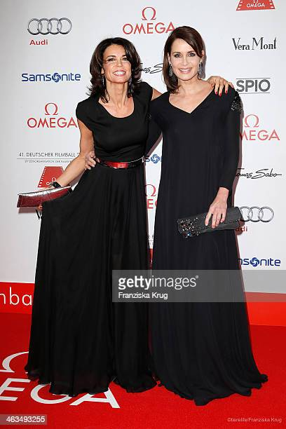 Gerit Kling and Anja Kling attend the German Film Ball 2014 on January 18 2014 in Munich Germany