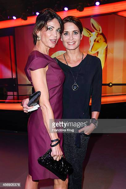 Gerit Kling and Anja Kling attend the Tribute To Bambi 2014 on September 25 2014 in Berlin Germany