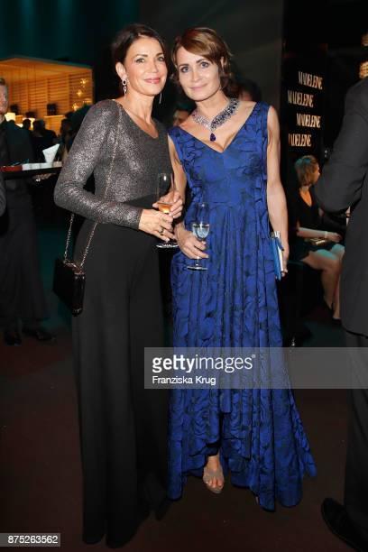 Gerit Kling and Anja Kling pose at the Bambi Awards 2017 party at Atrium Tower on November 16 2017 in Berlin Germany