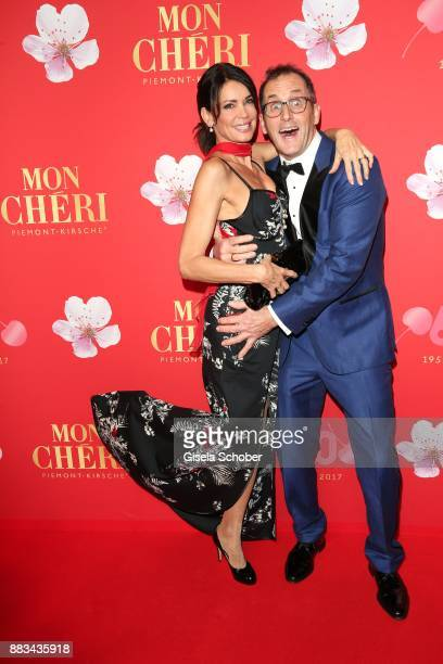 Gerit Kling and her husband Wolfram Becker during the Mon Cheri Barbara Tag at Postpalast on November 30 2017 in Munich Germany