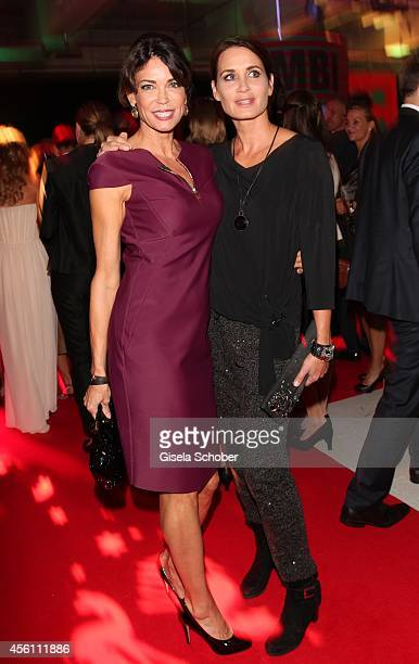 Gerit Kling and sister Anja Kling arrive at Tribute To Bambi 2014 at Station on September 25 2014 in Berlin Germany