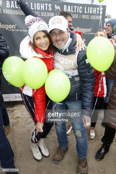 Gerit Kling and Till Demtroeder during the 'Baltic Lights' charity event on March 10 2018 in Heringsdorf Germany The annual event hosted by German...