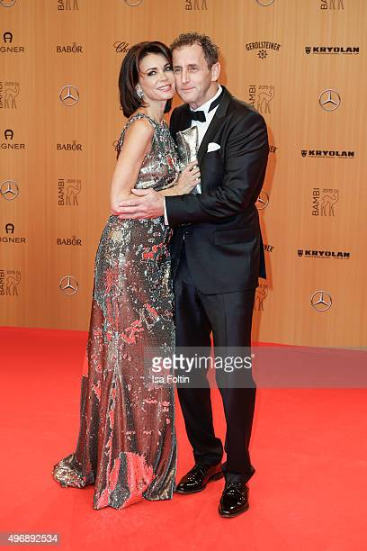 Gerit Kling and Wolfram Becker attend the Bambi Awards 2015 at Stage Theater on November 12 2015 in Berlin Germany