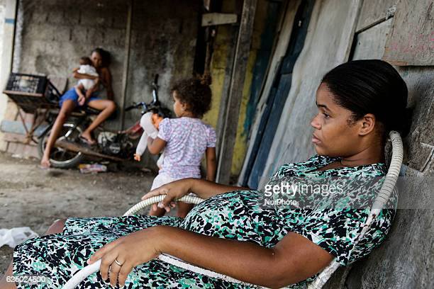 Gerlane Suerda de Santana have four children and is pregnant of the fifth She has never had a prenatal exam and does not know how many months she...