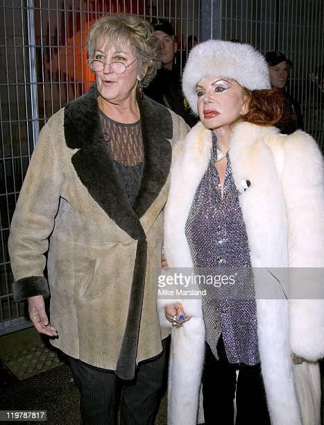 Germaine Greer and Jackie Stallone