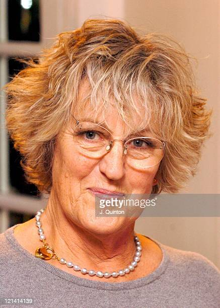 Germaine Greer during The 2004 Parker Romantic Novel of the Year at Savoy Hotel in London Great Britain