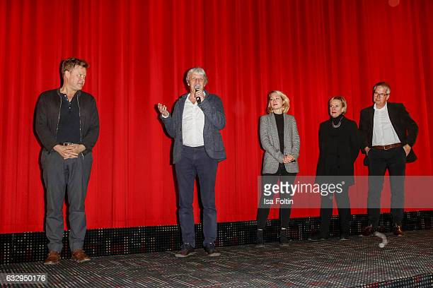 German acor Justus von Dohnanyi director Andreas Dresen producer Constanze Guttmann leader of production Christine Rothe and producer Peter Hartwig...