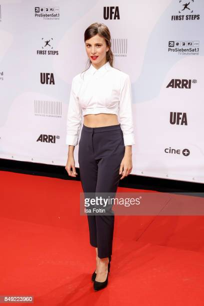 German actess Aylin Tezel attends the First Steps Awards 2017 at Stage Theater on September 18 2017 in Berlin Germany