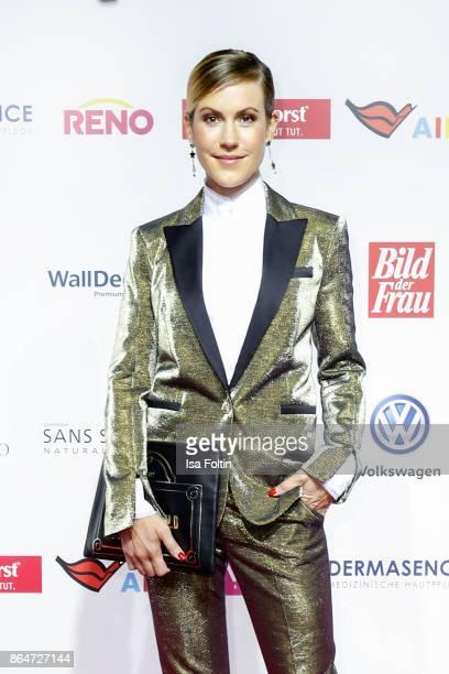 German actess Wolke Hegenbarth attends the 'Goldene Bild der Frau' award at Hamburg Cruise Center on October 21 2017 in Hamburg Germany