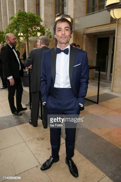 German actoir Nikolai Kinski attends the Lola - German Film Award reception at Palais am Funkturm on May 3, 2019 in Berlin, Germany.