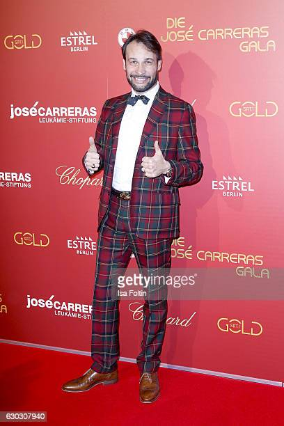 German actor AlexanderKlaus Stecher attends the 22th Annual Jose Carreras Gala on December 14 2016 in Berlin Germany