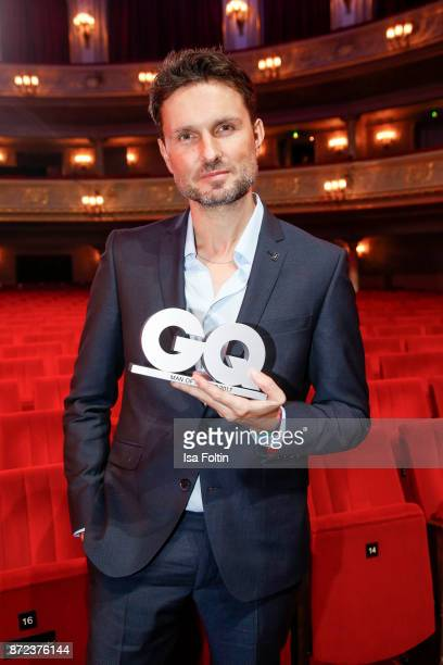 German actor and award winner Simon Verhoeven during the GQ Men of the year Award 2017 show at Komische Oper on November 9 2017 in Berlin Germany