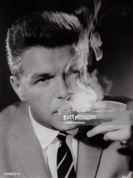 German actor and dubbing actor Heinz Drache Germany circa 1962