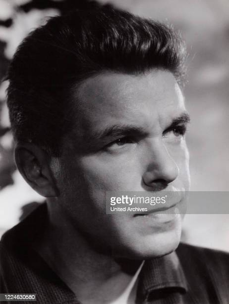 German actor and dubbing actor Heinz Drache Germany early 1960s