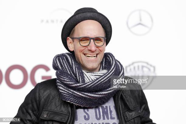 German actor and influencer Daniel Termann attends the 'Hot Dog' world premiere at CineStar on January 9 2018 in Berlin Germany