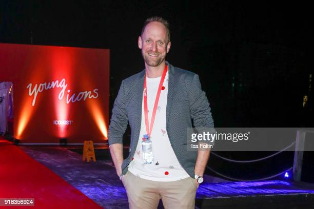 German actor and influencer Daniel Termann attends the Young ICONs Award in cooperation with ICONIST at BRLO Brwhouse on February 14 2018 in Berlin...