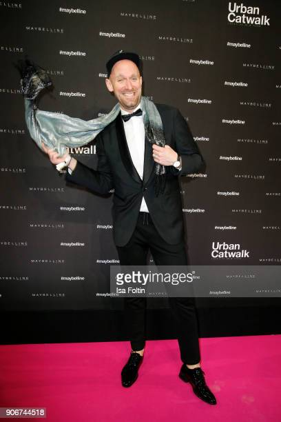 German actor and influencer Daniel Termann during the Maybelline Show 'Urban Catwalk Faces of New York' at Vollgutlager on January 18 2018 in Berlin...