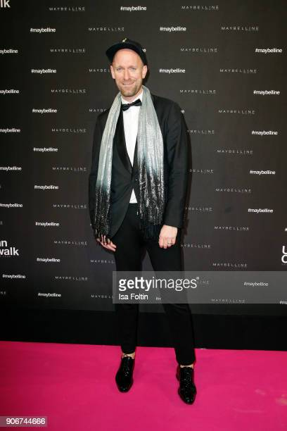 German actor and influencer Daniel Termann during the Maybelline Show 'Urban Catwalk - Faces of New York' at Vollgutlager on January 18, 2018 in...