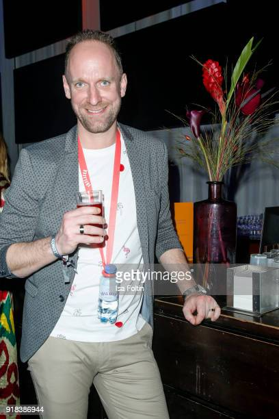 German actor and influencer Daniel Termann during the Young ICONs Award in cooperation with ICONIST at SpindlerKlatt on February 14 2018 in Berlin...