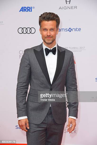 German actor and moderator Wayne Carpendale attends the German Film Ball 2017 at Hotel Bayerischer Hof on January 21 2017 in Munich Germany
