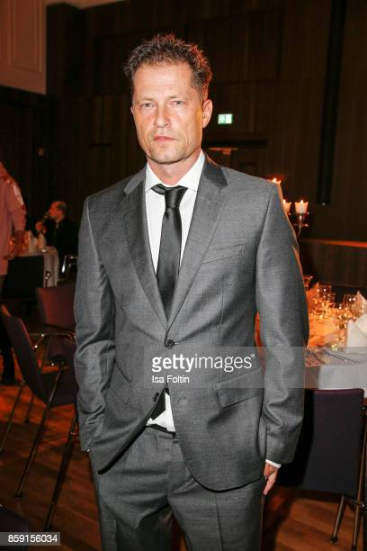 German actor and producer Til Schweiger attends the German Boxing Awards 2017 on October 8 2017 in Hamburg Germany