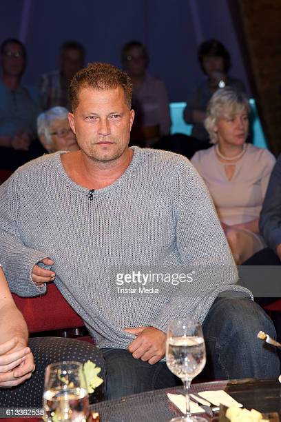 German actor and producer Til Schweiger during the 'NDR Talk Show' Photocall on October 7 2016 in Hamburg Germany