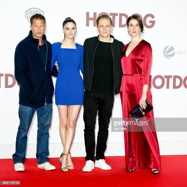 German actor and producer Til Schweiger German actress and model Lisa Tomaschewsky German actor and producer Matthias Schweighoefer and German...