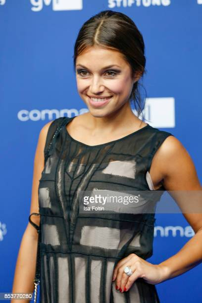 German actor Anna Julia Kapfelsperger during the 6th German Actor Award Ceremony at Zoo Palast on September 22 2017 in Berlin Germany