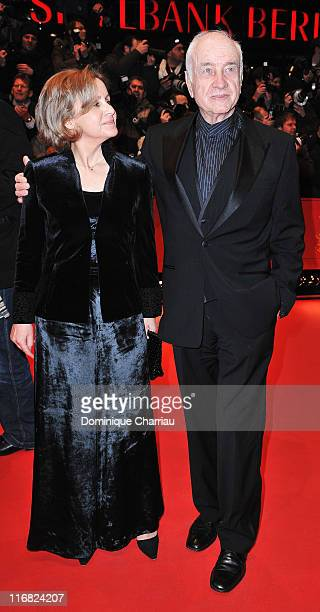 German actor Armin MuellerStahl and his wife Gabriele Scholz attends the The International premiere and Opening Ceremony during the 59th Berlin...