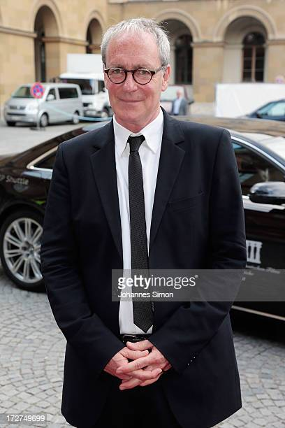 German actor August Zirner arrives for the Bernhard Wicki Award ceremony at Munich Film Fesitval on July 4 2013 in Munich Germany