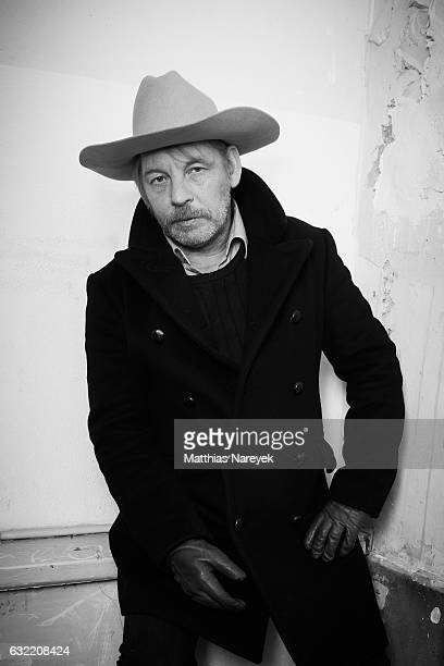 German actor Ben Becker during the MercedesBenz Fashion Week Berlin A/W 2017 at Kaufhaus Jandorf on January 20 2017 in Berlin Germany