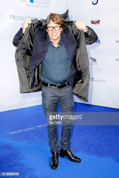 German actor Bruno Eyron attends the summer party 2017 of the German Producers Alliance on July 12 2017 in Berlin Germany