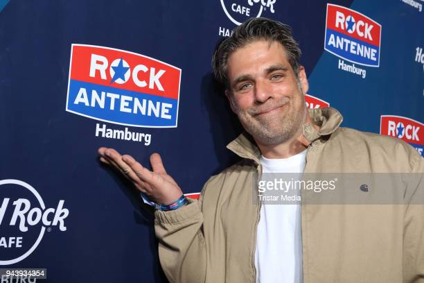 German actor Carsten Spengemann during the KickOff Party to the start of the radio station Rock Antenne Hamburg at Hard Rock Cafe on April 9 2018 in...