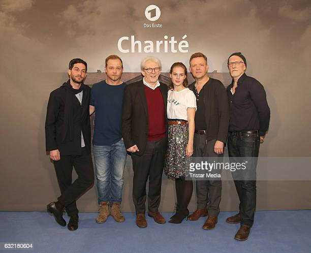 German actor Christoph Bach german actor Matthias Koeberlin neurologist Max Einhaeupl german actress abd model Alicia von Rittberg german actor...