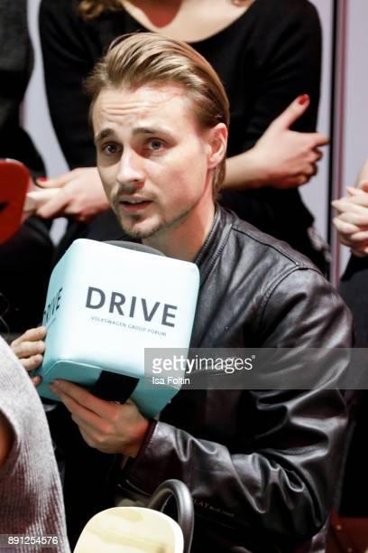 German actor Constantin von Jascheroff during the discussion panel of Clich'e Bashing 'soziale Netzwerke Real vs Digital' In Berlin at DRIVE...