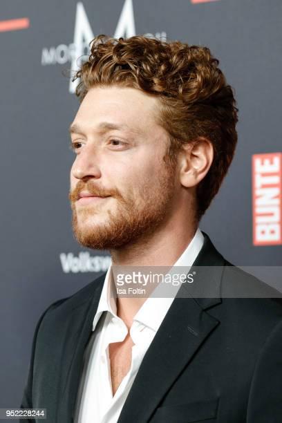 German actor Daniel Donskoy attends the New Faces Award Film at Spindler Klatt on April 26 2018 in Berlin Germany