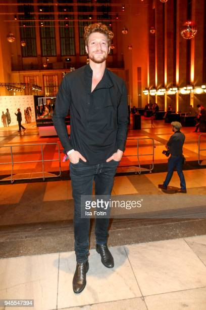 German actor Daniel Donskoy during the Echo Award after show party at Palais am Funkturm on April 12 2018 in Berlin Germany
