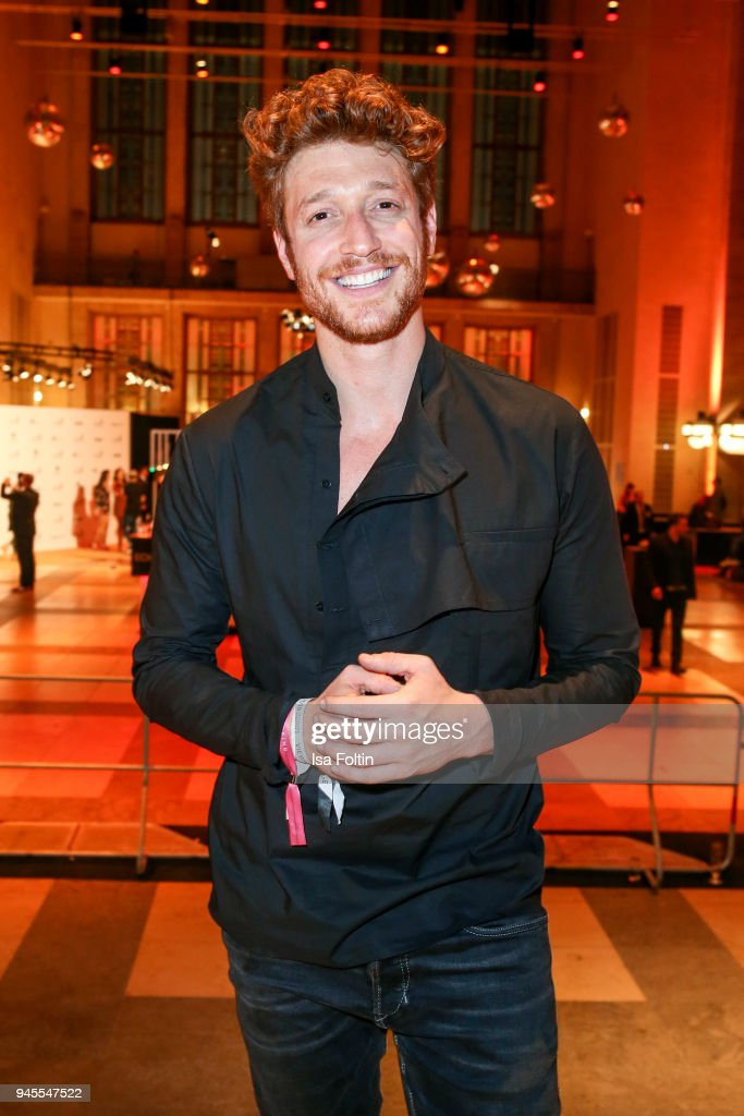 German actor Daniel Donskoy during the Echo Award after show party at Palais am Funkturm on April 12, 2018 in Berlin, Germany.