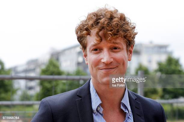 German actor Daniel Donskoy during the nominees announcement of the German Play Award 2018 at Kornversuchsspeicher on June 15 2018 in Berlin Germany...