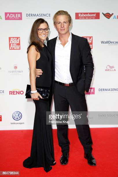 German actor Daniel Roesner and guest attend the 'Goldene Bild der Frau' award at Hamburg Cruise Center on October 21 2017 in Hamburg Germany