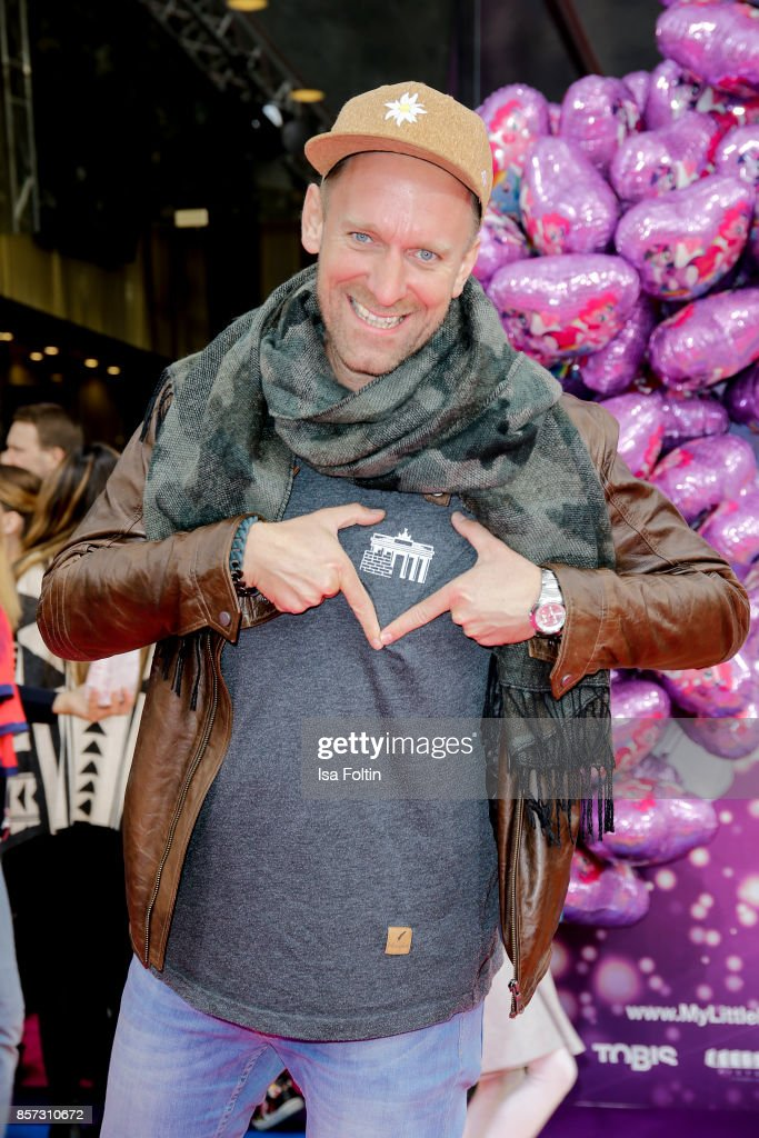 German actor Daniel Termann attends the 'My little Pony' Premiere at Zoo Palast on October 3, 2017 in Berlin, Germany.