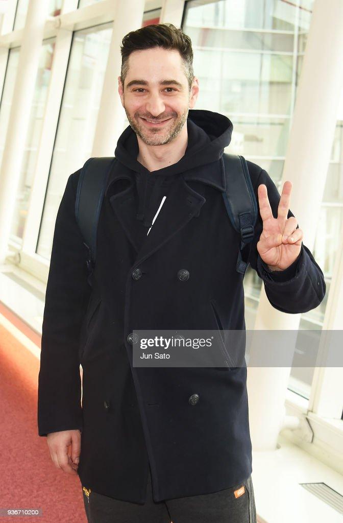 Denis Moschitto Arrives In Tokyo