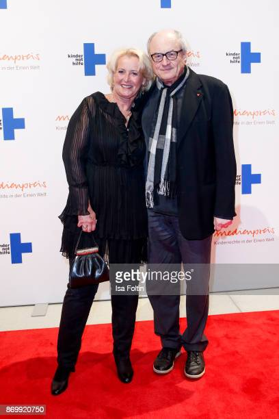 German actor Dietrich Mattausch and his wife Annette Mattausch attend the 19th Media Award by Kindernothilfe on November 3 2017 in Berlin Germany