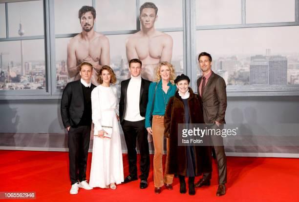 German actor, director and producer Matthias Schweighoefer, Austrian-Swiss actress Miriam Stein, German actor Artjom Gilz, German actress Maria...