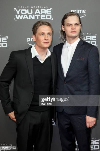 German actor director and producer Matthias Schweighoefer and German actor Wilson Gonzalez Ochsenkecht attend the premiere of the second season of...
