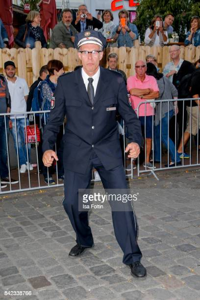 German actor Dirk Bielefeldt alias Herr Holm attends the 'Nacht der Legenden' at Schmidts Tivoli on September 3 2017 in Hamburg Germany