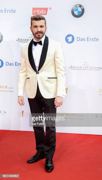 German actor Edin Hasanovic attends the Lola German Film Award red carpet at Messe Berlin on April 27 2018 in Berlin Germany