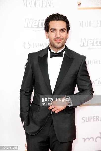 German actor Elyas MBarek during the Goldene Henne on September 28, 2018 in Leipzig, Germany.