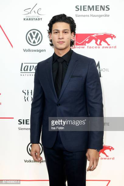 German actor Emilio Sakraya attends the New Faces Award Style 2017 at The Grand on November 15 2017 in Berlin Germany