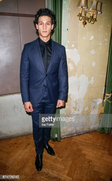 German actor Emilio Sakraya during the New Faces Award Style 2017 at The Grand on November 15 2017 in Berlin Germany